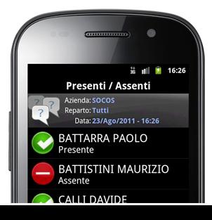controllo accessi mobile
